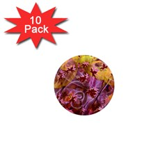 Falling Autumn Leaves 1  Mini Magnet (10 Pack)  by Contest2489503