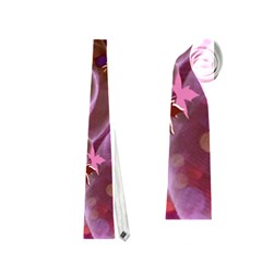 Falling Autumn Leaves Neckties (one Side)