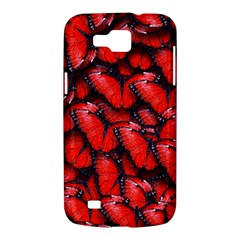 The Red Butterflies Sticking Together In The Nature Samsung Galaxy Premier I9260 Hardshell Case by Zeze
