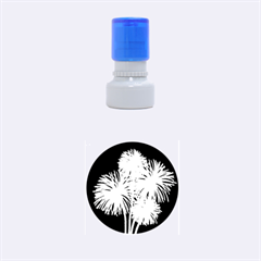 Dandelions Rubber Round Stamps (small) by Valentinaart