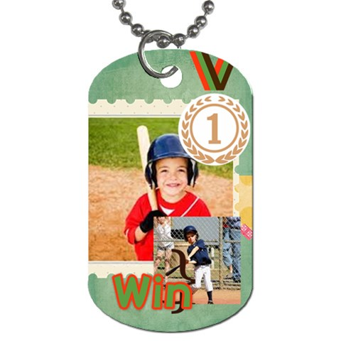 Sport By Sport   Dog Tag (one Side)   F3pdedj72vgz   Www Artscow Com Front