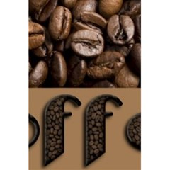 Funny Coffee Beans Brown Typography 5 5  X 8 5  Notebooks by yoursparklingshop