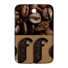 Funny Coffee Beans Brown Typography Samsung Galaxy Note 8 0 N5100 Hardshell Case  by yoursparklingshop