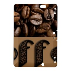 Funny Coffee Beans Brown Typography Kindle Fire Hdx 8 9  Hardshell Case by yoursparklingshop