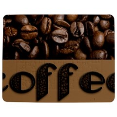 Funny Coffee Beans Brown Typography Jigsaw Puzzle Photo Stand (Rectangular) by yoursparklingshop