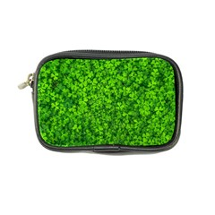 Shamrock Clovers Green Irish St  Patrick Ireland Good Luck Symbol 8000 Sv Coin Purse by yoursparklingshop