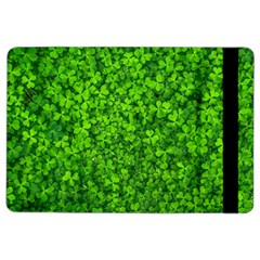 Shamrock Clovers Green Irish St  Patrick Ireland Good Luck Symbol 8000 Sv Ipad Air 2 Flip by yoursparklingshop