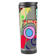 Tractor Travel Tumbler by Valentinaart