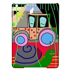 Tractor Ipad Air Hardshell Cases by Valentinaart