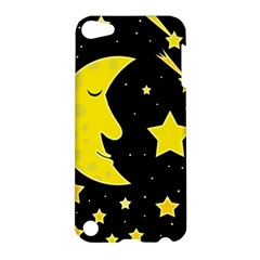 Sleeping Moon Apple Ipod Touch 5 Hardshell Case by Valentinaart