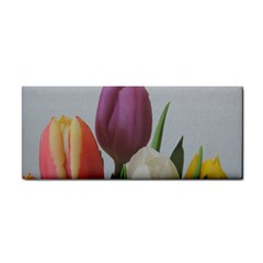 Tulips Hand Towel by picsaspassion