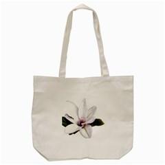 Magnolia Wit Aquarel Painting Art Tote Bag (cream) by picsaspassion