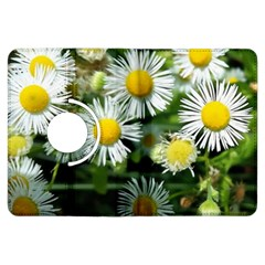 White summer flowers oil painting art Kindle Fire HDX Flip 360 Case by picsaspassion
