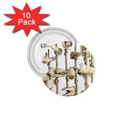 Hanging Human Teeth Dentist Funny Dream Catcher Dental 1 75  Buttons (10 Pack) by yoursparklingshop