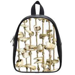 Hanging Human Teeth Dentist Funny Dream Catcher Dental School Bags (small)  by yoursparklingshop