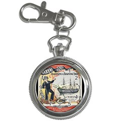 Vintage Advertisement British Navy Marine Typography Key Chain Watches by yoursparklingshop