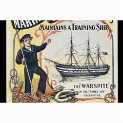 Vintage Advertisement British Navy Marine Typography Collage Prints by yoursparklingshop