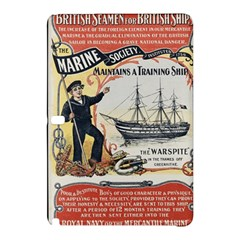 Vintage Advertisement British Navy Marine Typography Samsung Galaxy Tab Pro 10 1 Hardshell Case by yoursparklingshop