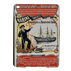 Vintage Advertisement British Navy Marine Typography Ipad Air 2 Hardshell Cases by yoursparklingshop