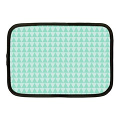 Mint Color Triangle Pattern Netbook Case (medium)  by picsaspassion