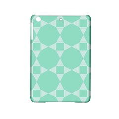 Mint Color Star   Triangle Pattern Ipad Mini 2 Hardshell Cases by picsaspassion