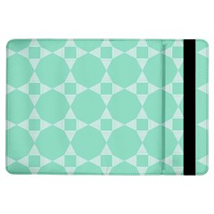 Mint Color Star   Triangle Pattern Ipad Air Flip by picsaspassion