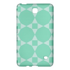Mint Color Star   Triangle Pattern Samsung Galaxy Tab 4 (7 ) Hardshell Case  by picsaspassion