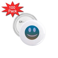 Smiley 1 75  Buttons (100 Pack)  by picsaspassion