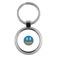 Smiley Key Chains (round)  by picsaspassion