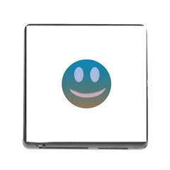 Smiley Memory Card Reader (Square) by picsaspassion