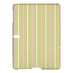 Summer Sand Color Pink And Yellow Stripes Samsung Galaxy Tab S (10 5 ) Hardshell Case