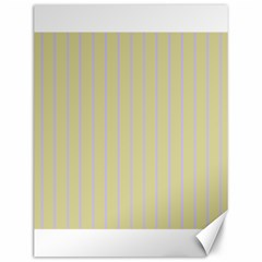 Summer Sand Color Lilac Stripes Canvas 12  X 16   by picsaspassion