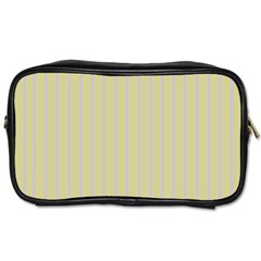 Summer Sand Color Lilac Stripes Toiletries Bags by picsaspassion