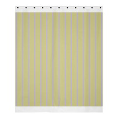 Summer Sand Color Lilac Stripes Shower Curtain 60  X 72  (medium)  by picsaspassion