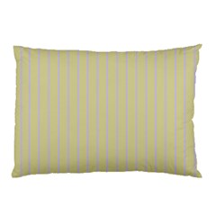 Summer Sand Color Lilac Stripes Pillow Case (two Sides) by picsaspassion