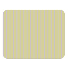 Summer Sand Color Lilac Stripes Double Sided Flano Blanket (large)  by picsaspassion