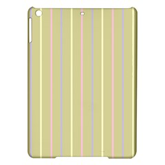 Summer Sand Color Lilac Pink Yellow Stripes Pattern Ipad Air Hardshell Cases by picsaspassion