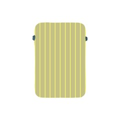Summer Sand Color Yellow Stripes Pattern Apple Ipad Mini Protective Soft Cases