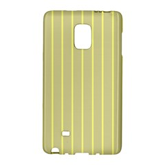 Summer Sand Color Yellow Stripes Pattern Galaxy Note Edge by picsaspassion