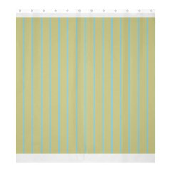 Summer Sand Color Blue Stripes Pattern Shower Curtain 66  X 72  (large)  by picsaspassion