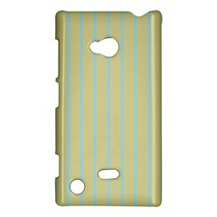 Summer sand color blue stripes pattern Nokia Lumia 720 by picsaspassion
