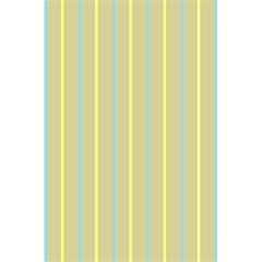 Summer Sand Color Blue And Yellow Stripes Pattern 5 5  X 8 5  Notebooks by picsaspassion