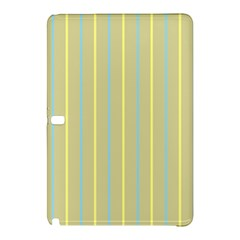 Summer Sand Color Blue And Yellow Stripes Pattern Samsung Galaxy Tab Pro 10 1 Hardshell Case by picsaspassion