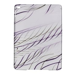 Lilac Stripes Ipad Air 2 Hardshell Cases by picsaspassion