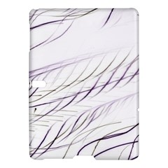 Lilac Stripes Samsung Galaxy Tab S (10 5 ) Hardshell Case  by picsaspassion