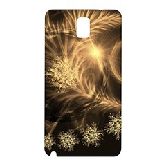 Golden Feather And Ball Decoration Samsung Galaxy Note 3 N9005 Hardshell Back Case by picsaspassion