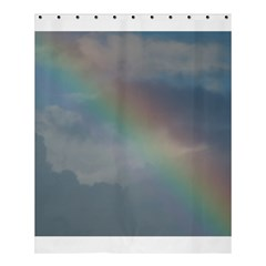 Rainbow In The Sky Shower Curtain 60  X 72  (medium)  by picsaspassion