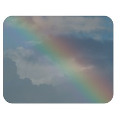 Rainbow In The Sky Double Sided Flano Blanket (medium)  by picsaspassion