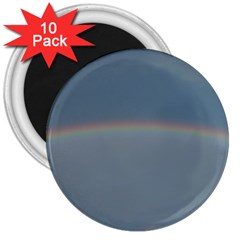 Colorful Rainbow 3  Magnets (10 Pack)  by picsaspassion