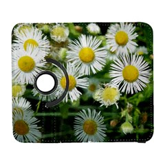 White Summer Flowers, Watercolor Painting Samsung Galaxy S  Iii Flip 360 Case by picsaspassion